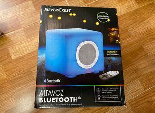 Altavoz bluetooth a batería con iluminación.