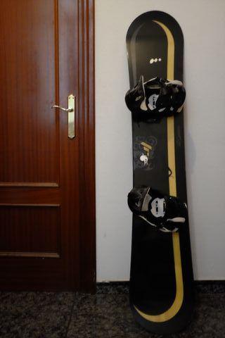 Snowboard Wed'ze FR6/162 cm + Fijación