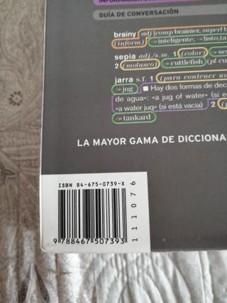 Diccionario inglés-español