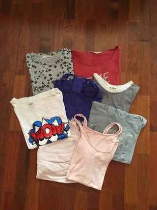Pack camisetes talla S-M