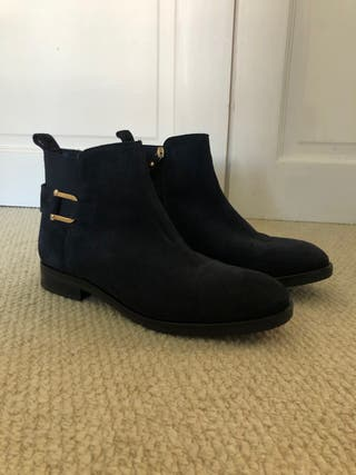 Tommy Hilfiger's Ankle Boots - Navy Blue