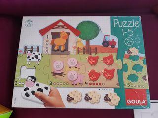 Puzzle infantil 2 años