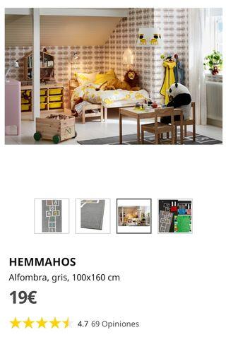 Alfombra HEMMAHOS Ikea