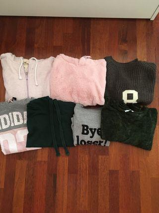 Pack 7 jerseis/dessuadores