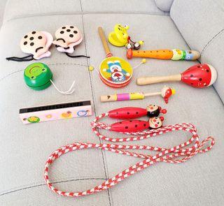 juguetes infantiles madera