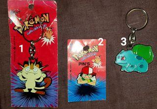 Pokemon llaveros y pin