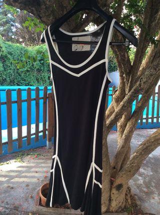 Vestido azul marino t36/38