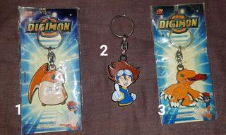 Digimon llaveros