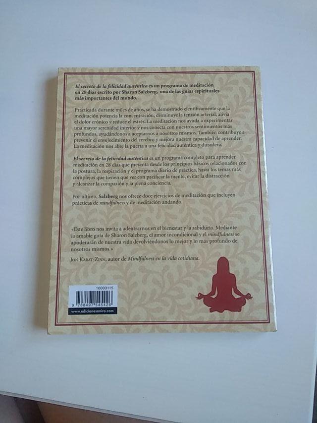 Libro el poder de la meditación. Autoayuda