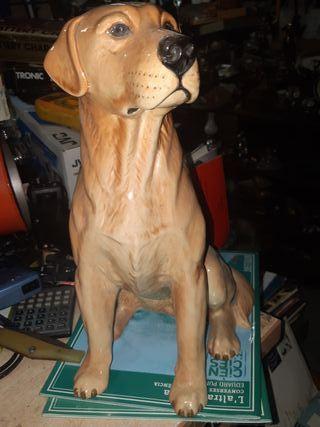 perro de porcelana labrador de porcelana