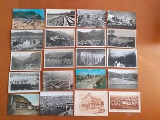 Lote 20 postales antiguas 1950-60