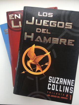 Libros saga Los Juegos del Hambre