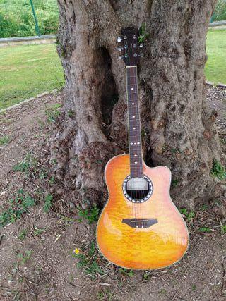 guitarra electroacústica acepto cambios