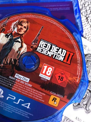 Red Dead Redemption 2 Juego Ps4