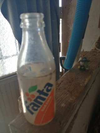 botella fanta años 90