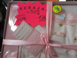 rebajas regalos recién nacidos 100% algodón