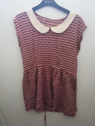 vestido mini conejitos