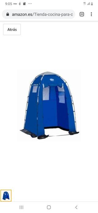 tienda de campaña/ toldo camping