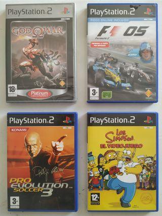 PS2 Videojuegos