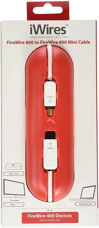 Cable FireWire 800 A FireWire 400 para Mac