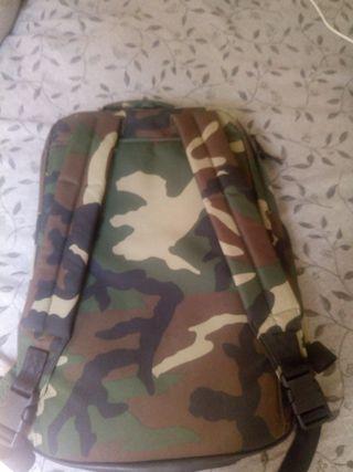 mochila de militar