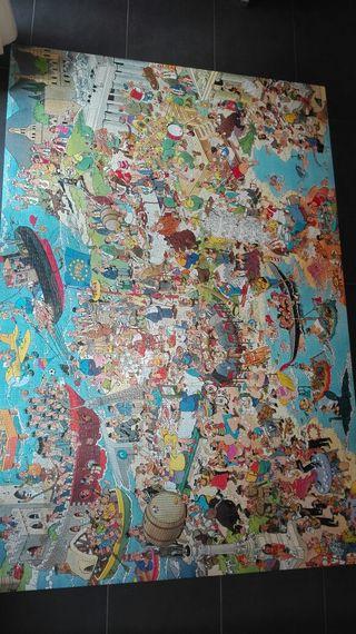 puzzle países de Europa. 5000 piezas