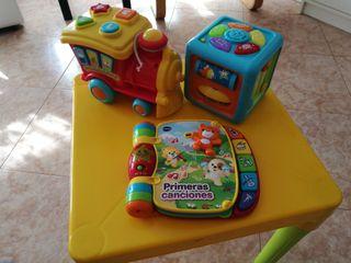 Pack juguetes infantiles