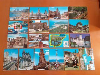 Lote postales antiguas Galicia