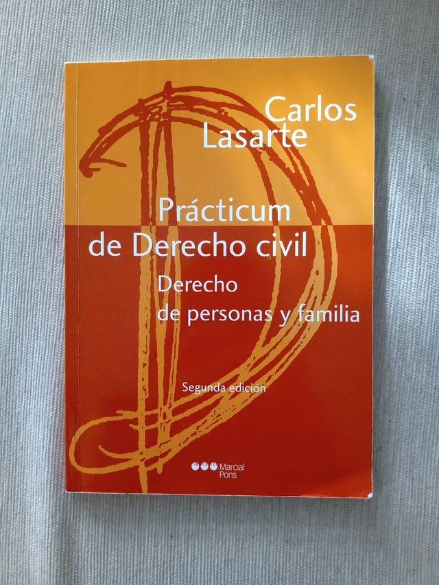 Practicum Derecho Civil Personas Y Familia De Segunda Mano Por 4 En San Sebastián De Los Reyes En Wallapop