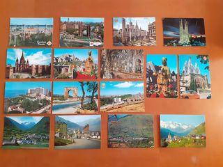 Lote postales antiguas Catalunya