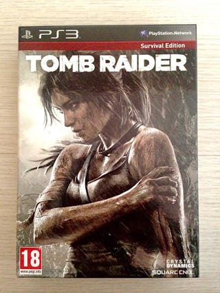 Tomb Raider Survival Edition (PS3)