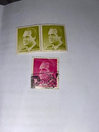 Sellos Juan Carlos 1986 nuevos 7 y 20 pesetas