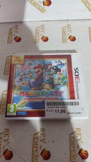 Juego 3ds Mario Party Island Tour