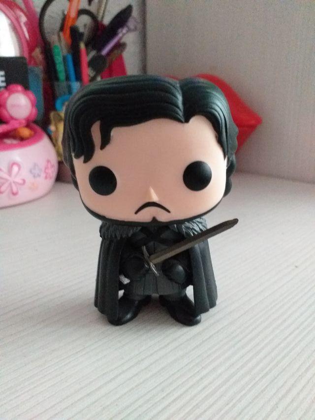 Funko pop Jon Snow. Juego de tronos