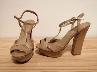 Sandalias de tacón con plataforma
