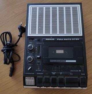Grabador-reproductor de cintas de cassette