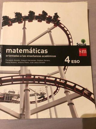 Libro de matemáticas orientadas a la enseñanza aca