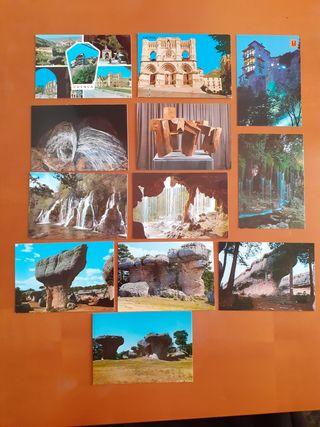 Lote postales antiguas Cuenca