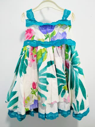 vestido de niña fiesta verano