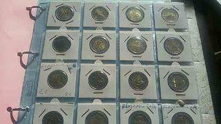 COLECCIÓN COMPLETA Monedas 2 euros conmemorativas