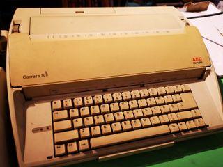 máquina AEG de escribir