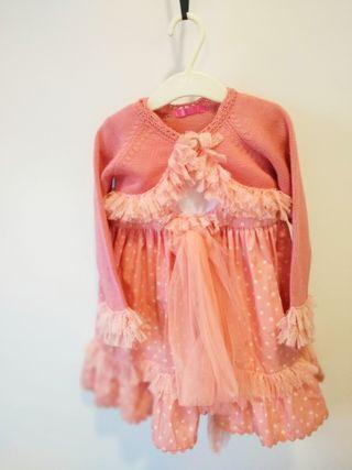 vestido de niña fiesta