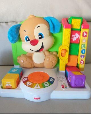 juguete perrito con cubos fisher price