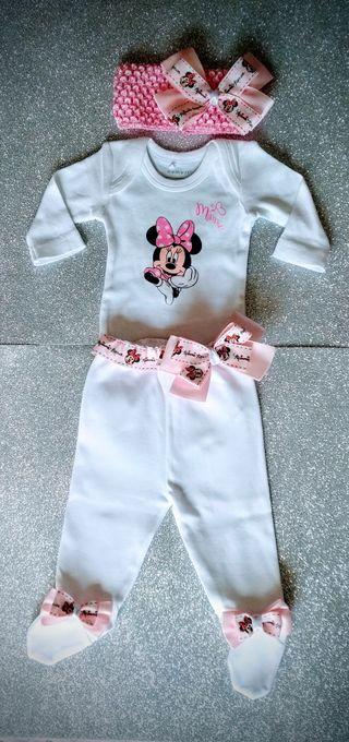 conjunto Minnie primera puesta