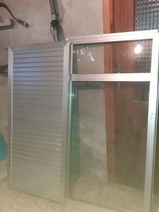 ventanas de aluminio con contra