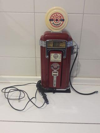 Teléfono fijo surtidor gasolina