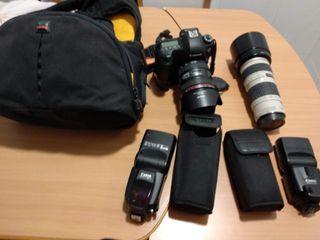 Equipo fotografía Canon 6D
