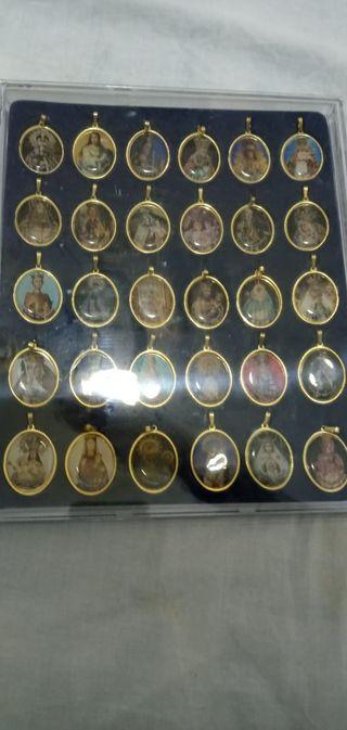 coleccion de medallas de virgenes