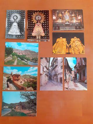 Lote postales antiguas Aragon