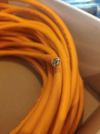 Cable ethernet CAT 7 de 18,5m